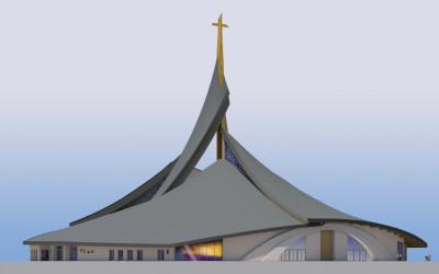Santuário Eucarístico de Balasar – Benção da primeira pedra