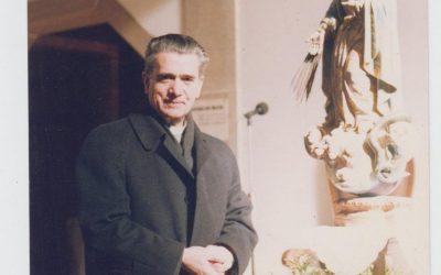 Restos mortais do Padre Heitor Calovi em Balasar