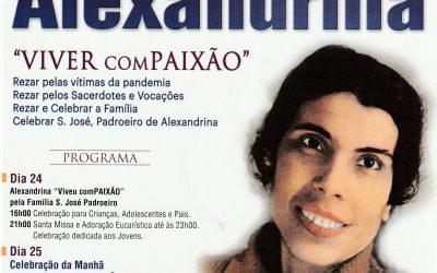 CELEBRAR O 17.º ANIVERSÁRIO DA BEATIFICAÇÃO DE ALEXANDRINA