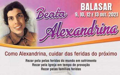 Festa Litúrgica em honra da Beata Alexandrina – Como Alexandrina, cuidar das feridas do próximo